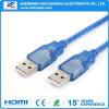Mâle d'USB 3.0 au câble usb rapide mâle de transfert