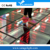 Танцевальная площадка зеркала СИД конструкции 3D украшения венчания новая