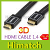 HDTV DVD PS3 xBox LCD를 위한 표준 Flat HDMI Cable