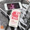 Stickers antidérapage pour des téléphones mobiles