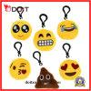 Fornitore della Cina per la catena chiave di Emoji della mini peluche