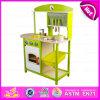 De beste het Verkopen Reeks van het Spel van de Keuken van het Speelgoed 2015, het Nieuwe Stuk speelgoed van de Keuken van de Jonge geitjes van de Hoogste Kwaliteit van het Ontwerp Houten, de Grappige Keuken Vastgestelde W10c143A van het Spel van Kinderen