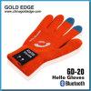 Orange Touch Screen Gloves Hello Gloves Gd - 20