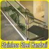 Barandilla de cristal de la escalera del claro de la barandilla del acero inoxidable 304