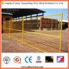 Clôture provisoire peinte par PVC de treillis métallique d'acier à faible teneur en carbone