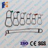 Boucles de câble métallique soulevant des pièces de construction de béton préfabriqué