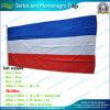 90X180cm 160GSM Spun Polyester Serbie et Monténégro Flag (NF05F09022)