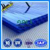 Folha azul do policarbonato de Azul