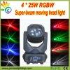 2015最も新しい4X25W Super Beam LED Moving HeadレーザーLight