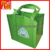 Saco de compra não tecido barato do saco do punho do remendo da colagem da venda por atacado do preço