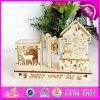 2015 Hight-Grade Caixa de música de madeira brinquedo para venda, Design bonito estilo Mediterrâneo Windmill Caixa de música de madeira W02A032