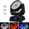 Супер Brightness 24*15W RGBWA 5in1 СИД Wash Zoom Moving Head