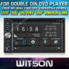Reprodutor de DVD dobro do RUÍDO de WITSON com sustentação do Internet DVR da ROM WiFi 3G do chipset 1080P 8g