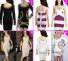 2014 heißer Verkaufs-preiswertes Verband-Kleid-Dame-Partei-Kleid-Abend-Kleid (W-108)