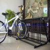 Assoalho High-Capacity - cremalheira de estacionamento montada da bicicleta