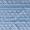 Tela elástica de nylon do laço de Peached da guipura para o sutiã e o vestido de casamento