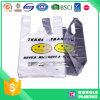 HDPEのSupermaketの食料雑貨のための幸せな表面袋