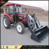Tracteur 4 roues motrices de l'agriculture Machines 80HP avec chargeur