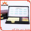Подгонянные блокнот крышки PU липкие с календаром для подарка (PN246)