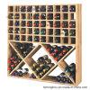 Cube en bois classique rustique en vin de Module pour des meubles de mémoire de vin
