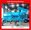 機械を分ける移動式沖積金塵