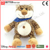 Cute Cartoon Stuffed Animal Soft Toy Plush Leopard for Kids