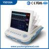 Moniteur fœtal ECG Matériel de l'hôpital maternel Moniteur patient portable Ysd18A