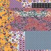 Tessuto molle stampato fiore di Digitahi (TLD-0061)