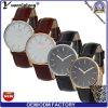Yxl-570 het Populairste Elegante Horloge Van uitstekende kwaliteit van de Mensen van de Riem van het Leer Genunie van het Ontwerp Kleurrijke