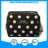 Flor pequena tela impressa saco cosméticos para o saco de beleza