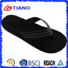 Nuevo Flip-flop negro de la playa de EVA para los hombres (TNK35275)