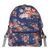 Trois tailles imperméabilisent le sac à dos floral britannique de toile (23182)