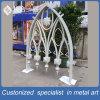 Finestra bianca personalizzata di Dcoration dell'acciaio inossidabile per la moschea esterna