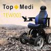 Sillón de ruedas eléctrico de la potencia campo a través fuerte del motor de Topmedi