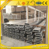 Pipe 6063 T5 rectangulaire en aluminium faite sur commande en aluminium
