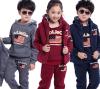 Sport-Abnutzungs-Herbst-lange Hülsen-Form-Kinder, die Set kleiden