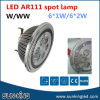 3000k 4000k AR111 LED Spot Lamp 6With7With9With12W, G53 E27 LED AR111 Lamp 220V