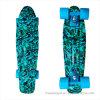 [22ينش] [بّ] مصغّرة لوح التزلج طرّاد كاملة لوح التزلج موز لوح التزلج اللون الأزرق [كمو]