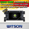 Carro DVD GPS do Android 5.1 de Witson para Suzuki Vitara grande 2006-2010 com sustentação do Internet DVR da ROM WiFi 3G do chipset 1080P 16g (A5779)