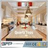 Pierre de quartz pour la partie supérieure du comptoir de cuisine avec différentes couleurs