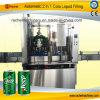 Automatisch kan het Vullen van het Bier het Afdekken Machine