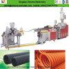 Труба из волнистого листового металла PP/PE/PVC одностеночная делая машину