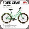700c 숙녀 Fixed Gear Bicycle