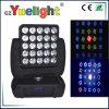 25PCS 12W RGBW LED Moving Head Matrix Light