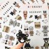 Bladen van de Sticker van de Kwaliteit van de douane de Vinyl Transparante Duidelijke