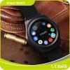 Teléfono móvil androide Smartwatch de Siri de la medida del monitor ECG del sueño del ritmo cardíaco del podómetro