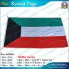 90X180cm 160GSM Spun Polyester Kowéit Flag (NF05F09046)