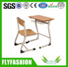 Venta caliente solo estudiante de diseño de mobiliario escolar de escritorio (SF-43S)