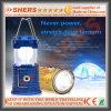Свет 6 SMD СИД солнечный с 1W электрофонарем, USB (SH-1995A)