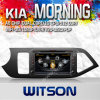 A8 Chipset S100 (W2-C217)の車DVD Player KIA Morning